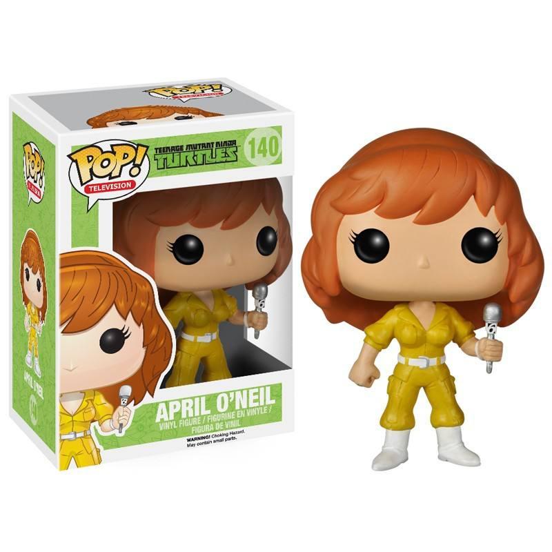 POP! As Tartarugas Ninjas - April O´Neil