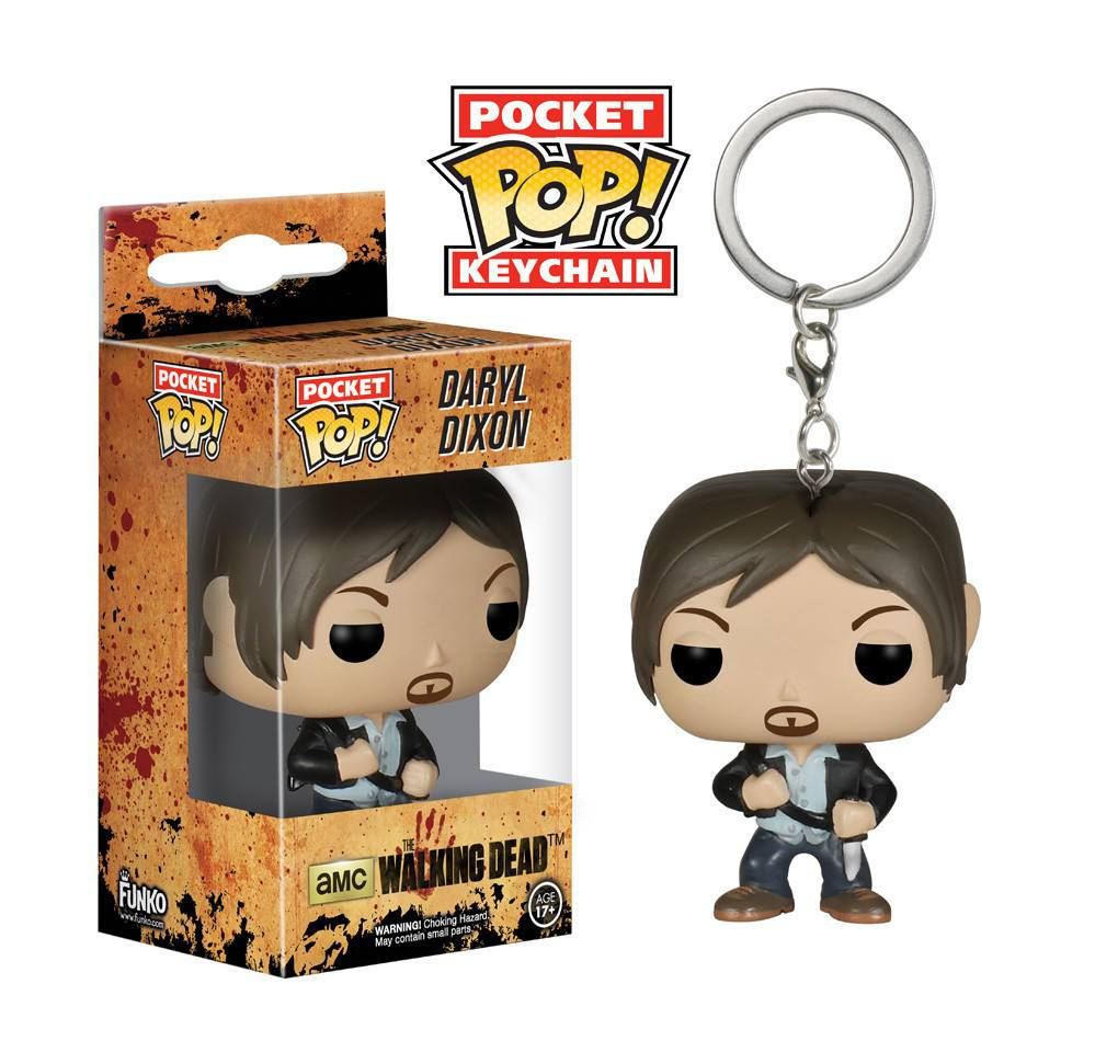 POP! Funko Chaveiro - The Walking Dead - Daryl Dixon