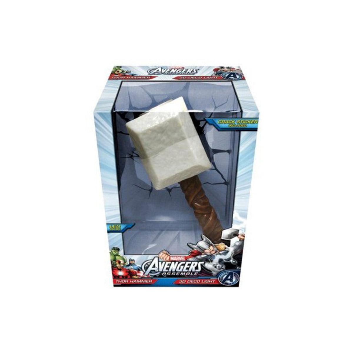 Luminária - Marvel - Avengers Assemble - Thor Martelo