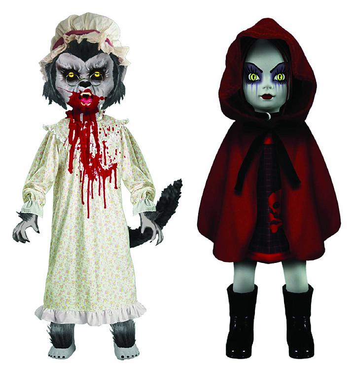 LIVING DEAD DOLLS - SCARY TALES - THE BIG BAD WOLF AND LITTLE RED RIDING HOOD