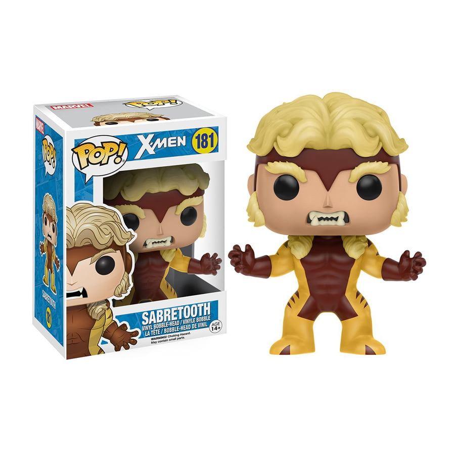 POP! X-Men - Dente de Sabre