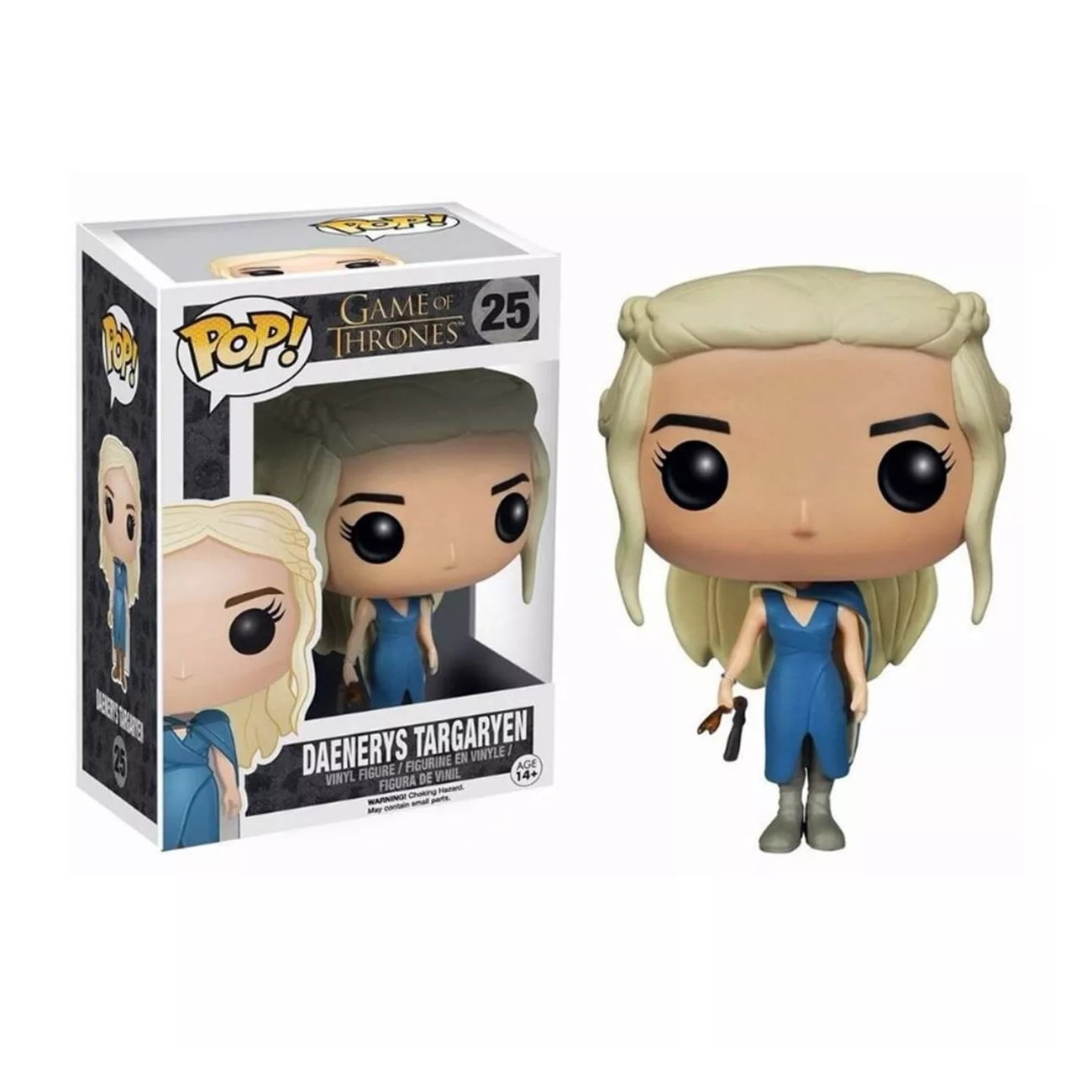POP! Game of Thrones -  Daenerys Targaryen Vestido Azul