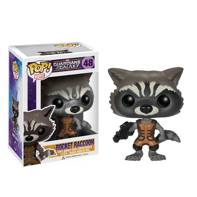 POP! Guardiões da Galaxia - Rocket Raccoon