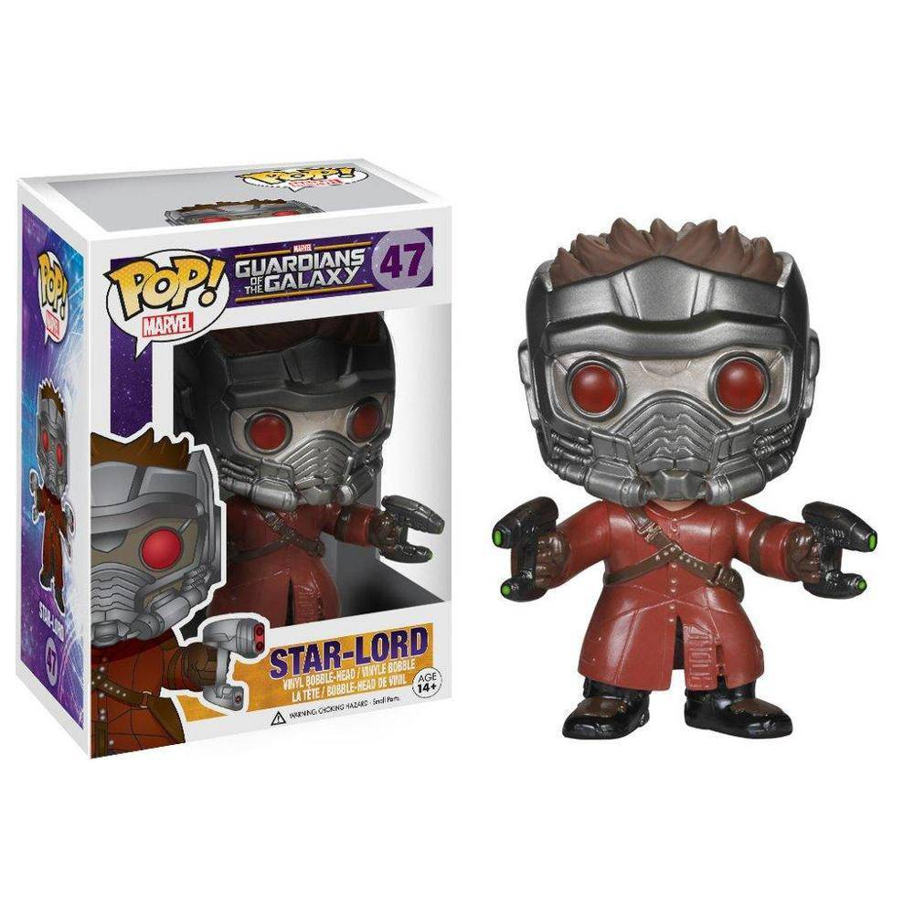 POP! Guardiões da Galaxia - Star Lord