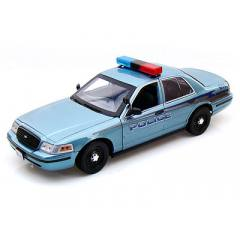 Crepúsculo - Carro do Xerife Charlie -  Ford Police Cruiser 1/18