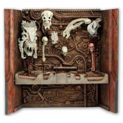 Diorama da Sala de Troféus do filme Predador 2