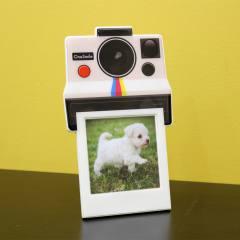Porta Retrato Instant Camera