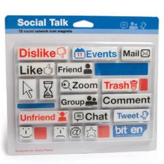 Kit de Imãs Social Talk