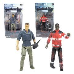 Guerra Mundial Z - Gerry Lane e Paramedic Zombie - Series 1 com 2 figuras