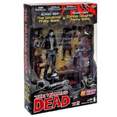 The Walking Dead - Series 2 - O Governador e Penny Blake B&W - PX Exclusive