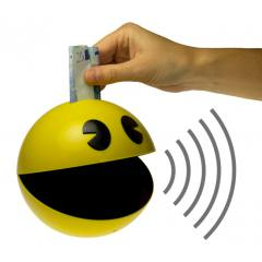 Pac-Man Cofre que emite som