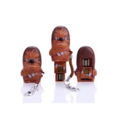 Star Wars - Chewbacca - Flash Drive - adaptador para leitor de micro cartão