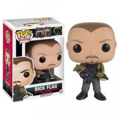 POP! Esquadrão Suicida - Rick Flag