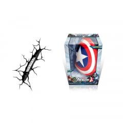 Luminária - Marvel - Avengers Assemble - Capitão America Escudo