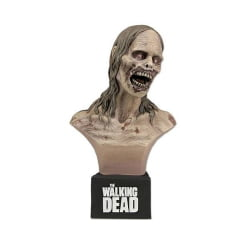 THE WALKING DEAD - BICYCLE GIRL ZOMBIE - MINI BUSTO