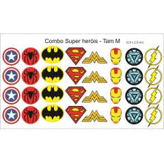 Combo Super Heróis