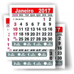 Mini calendário 2017