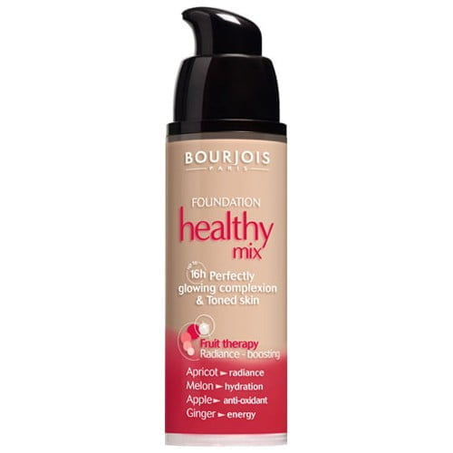 BASE FOND DE TEINT HEATHY MIX BOURJOIS COR 55 VANILLE