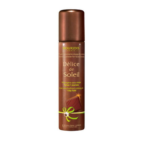 BOURJOIS PÓ BRONZEADOR SPRAY DÉLICE DE SOLEIL FACE & BODY