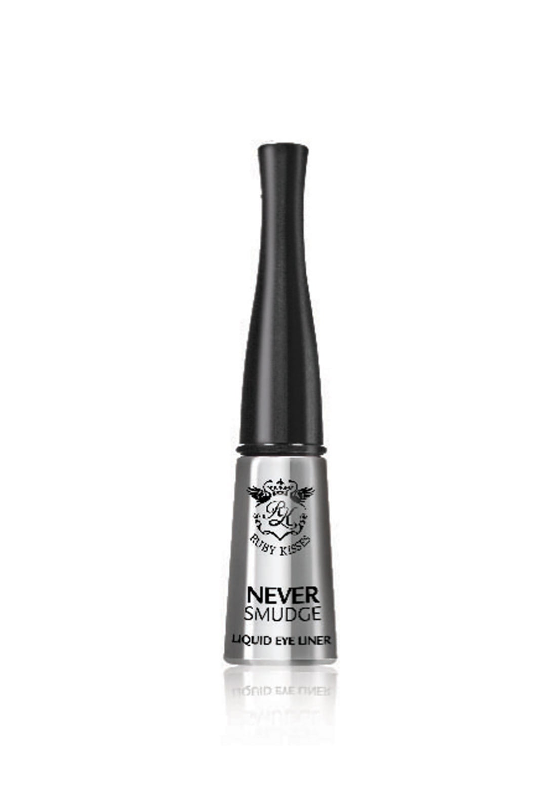 DELINEADOR RUBY KISSES NEVER SMUDGE LIQUID 10ML BLACK