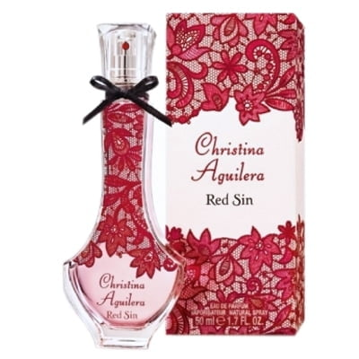 PERFUME RED SIN EDP FEMININO  CHRISTINA AGUILERA – 30 ML