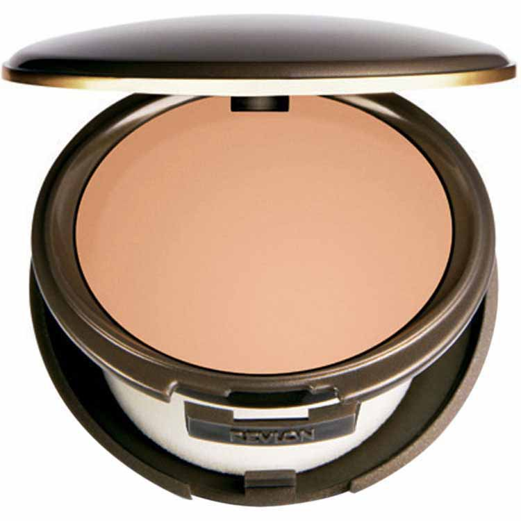 NEW COMPLEXION ONE-STEP COMPACT  MAKEUP - BASE 2 EM 1 COR 03 SAND BEIGE - REVLON