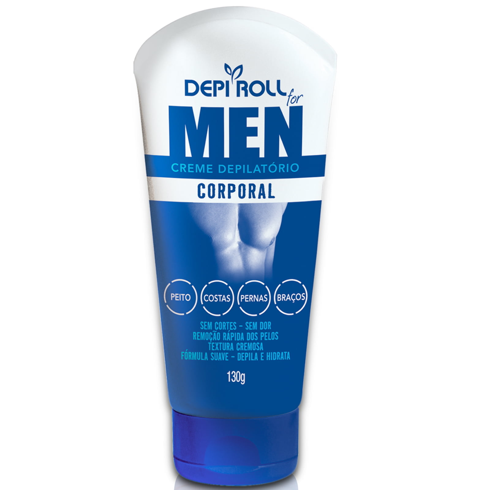 CREME DEPILATÓRIO CORPORAL FOR MEN - DEPI-ROLL