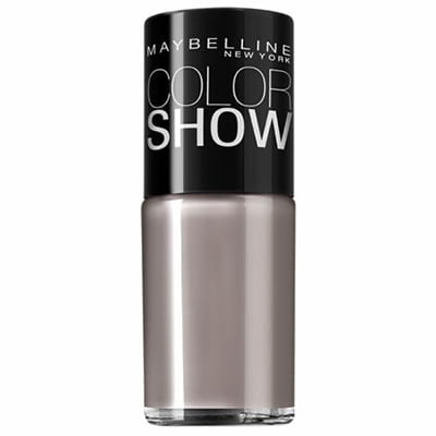 ESMALTE COLOR SHOW 10ML MAYBELLINE - 540 RUNWAY GREY