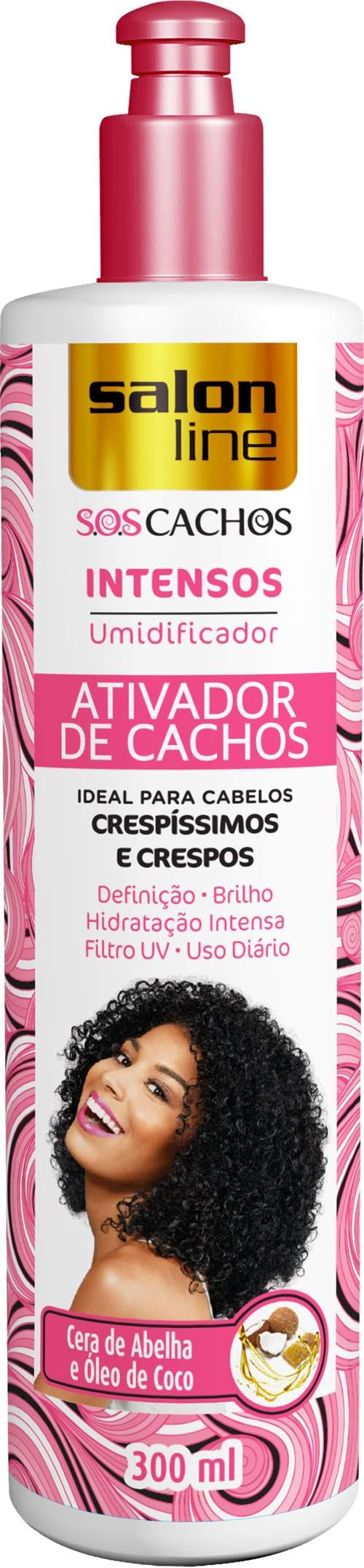 ATIVADOR DE CACHOS SALON LINE – UMIDIFICADOR INTENSO - SALON LINE