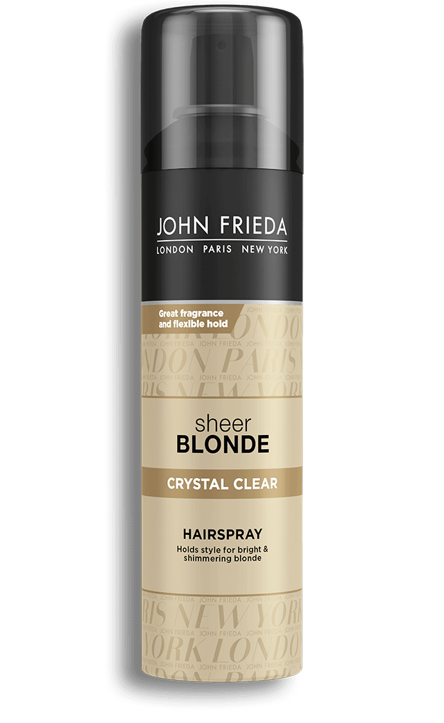 John Frieda Sheer Blonde Crystal Clear Shape & Shimmer Hairspray - Finalizador