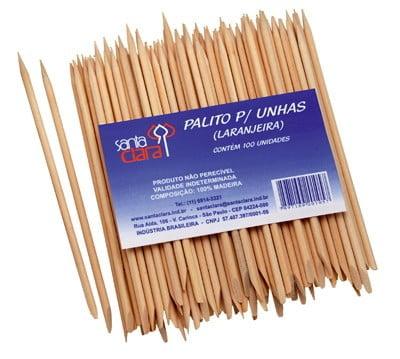 PACOTE PALITO PARA UNHAS - 100 UNIDADES