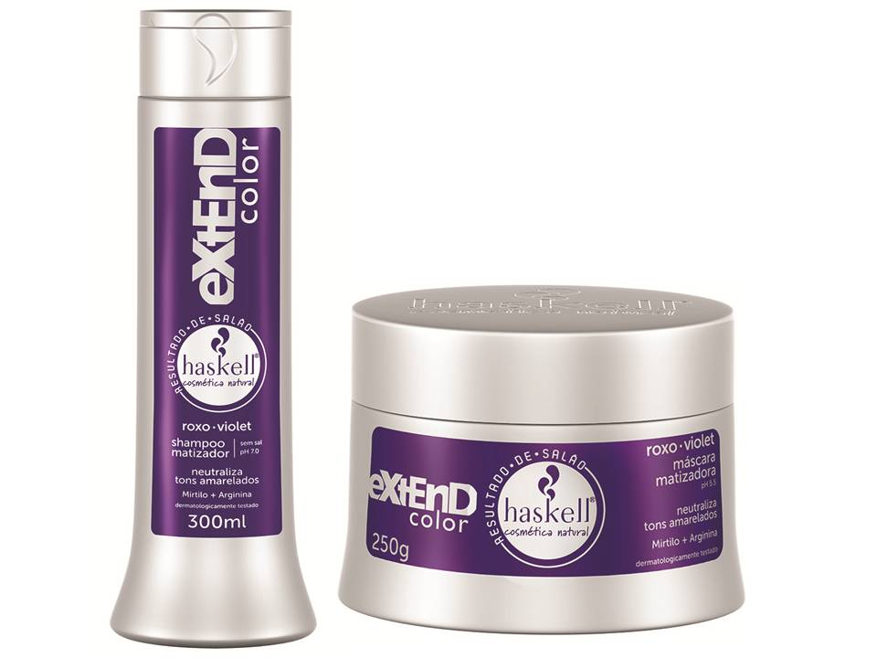 HASKELL – KIT MATIZADOR ROXO EXTEND COLOR - HASKELL