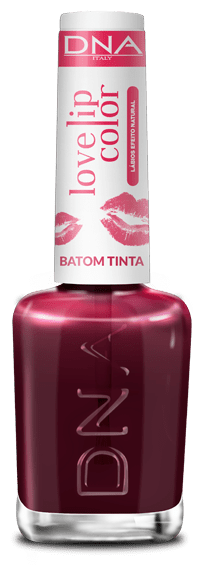 BATOM TINTA - LOVE LIP COLOR – LOVE CHERRY – DNA ITALY