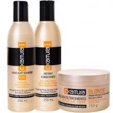 KIT BLONDE HAIR REPAIR ( 3 Produtos ) - Celso Kamura