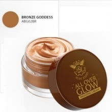 CREME ALL OVER GLOW BRONZING CREAM GOLDEN GODDESS RUBY KISSES