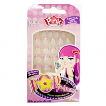 UNHAS POSTIÇAS INFANTIL – POP PRINCESS - FIRST KISS