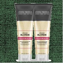 JOHN FRIEDA - KIT SHEER BLONDE EVERLASTING BLONDE SHAMPOO + CONDICIONADOR - JOHN FRIEDA 250ML