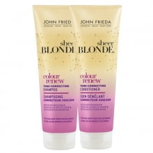 JOHN FRIEDA SHEER BLONDE SHAMPOO E CONDICIONADOR