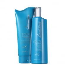 Kit Mediterrani Equal  - Shampoo + Condicionador Equal - Mediterrani