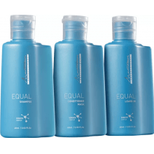 Kit Mediterrani Equal - Shampoo + Condicionador + Leave-in - Mediterrani