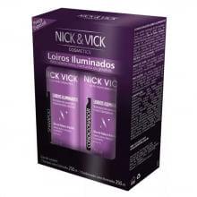 Loiros Iluminados Nick & Vick - Shampoo e Condicionador - Nick & Vick