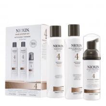 NIOXIN 4 - Kit Para Cabelo Fino Quimicamente Tratado