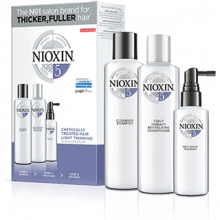 NIOXIN 5 - Kit Para Cabelo Normal Quimicamente Tratado