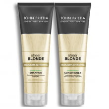 SHAMPOO + CONDICIONADOR JOHN FRIEDA - BLONDE  HIGHLIGHT ACTIVATING ENHANCING – JOHN FRIEDA