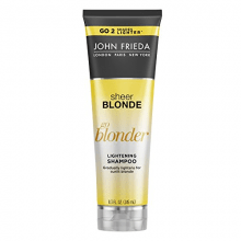 Sheer Blonde  GO Blonder Lightening  Shampoo Clareador - John Frieda