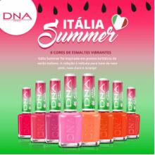 ESMALTE DNA ITALY - COLEÇÃO SUMMER