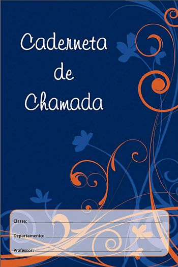 CADERNETA DE CHAMADA PARA 35 NOMES