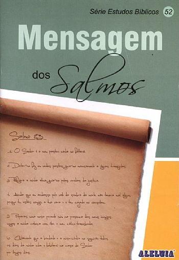 Rev. 52 - MENSAGEM DOS SALMOS