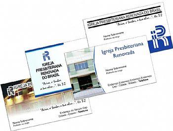 Cartão de visita modelo 1 c/ 1000 unid. - CV1/1000