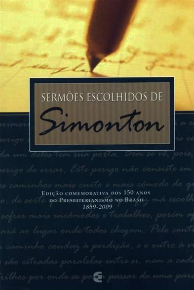 SERMÕES ESCOLHIDOS DE SIMONTON Cod. 1830
